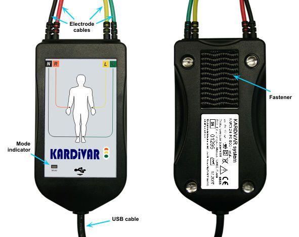 Computer-based electrocardiograph / digital KARDiVAR Medical Computer Systems