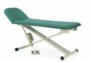 Electrical examination table / height-adjustable / 2-section 34104 E PT. Mega Andalan Kalasan