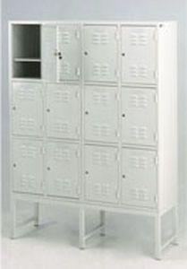 Locker room cabinet / for healthcare facilities / 12-door 32505 PT. Mega Andalan Kalasan