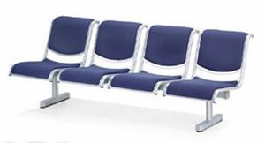 Beam chair / for waiting room / 4 seater 99104 S4 PT. Mega Andalan Kalasan