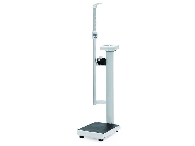 Electronic patient weighing scale / column type / with BMI calculation / with height rod 300 kg   MS3910 Charder Electronic