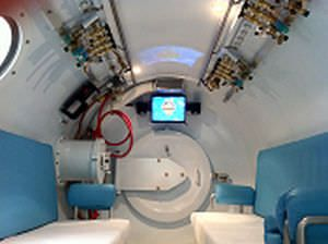 Mobile hyperbaric chamber / multiplace OxyHeal 4000-T OxyHeal