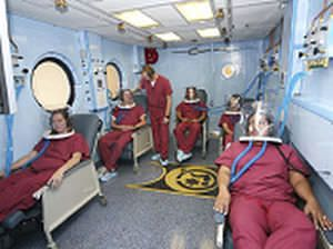 Rectangular hyperbaric chamber / multiplace OxyHeal 5000 OxyHeal
