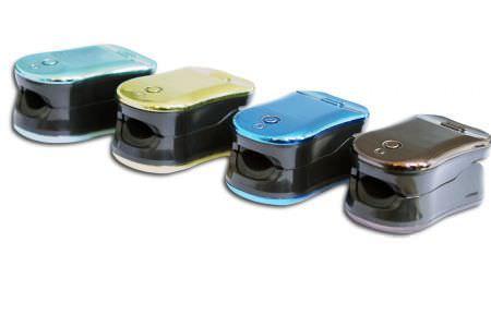Fingertip pulse oximeter / compact GT100 Guoteng