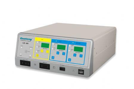 Monopolar cutting electrosurgical unit / monopolar coagulation / bipolar cutting / bipolar coagulation GD400 Guoteng