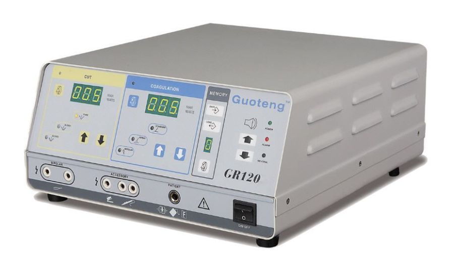 Radiofrequency electrosurgical unit GR 120 Guoteng