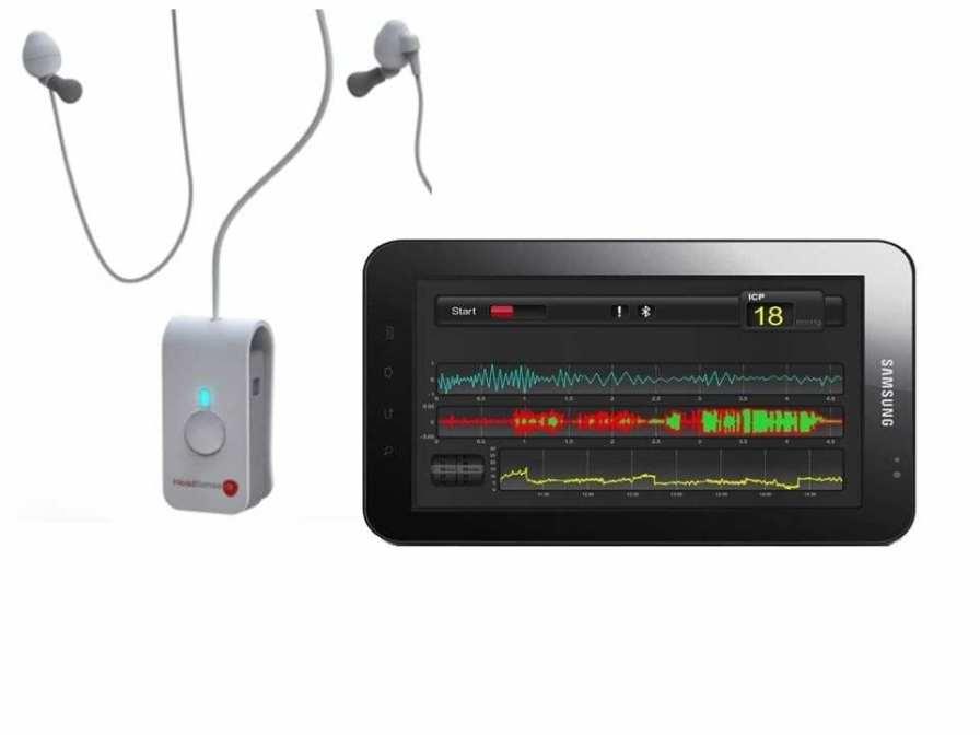 Non-invasive pressure monitor / intracranial HeadSense