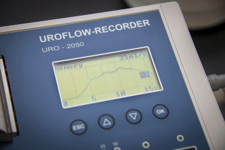 Urinary flow meter URO-2050 RECO MEDIZINTECHNIK, Wolfgang Rentsch