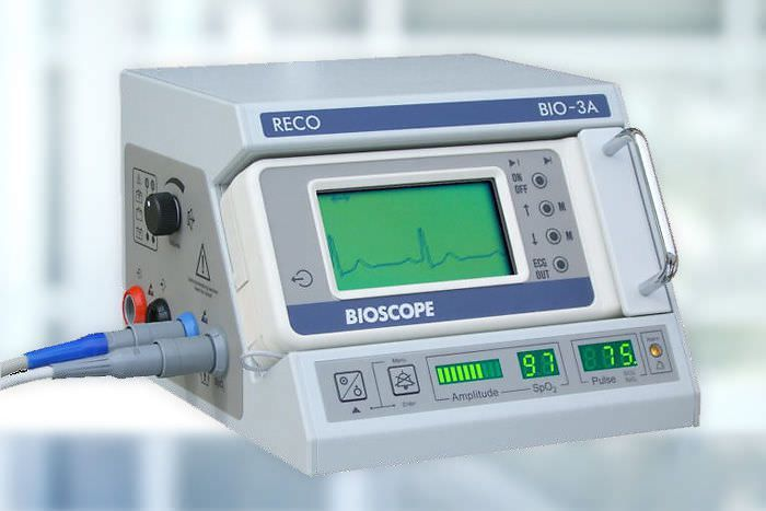 Tabletop multi-parameter monitor / anesthesia BIO-3A RECO MEDIZINTECHNIK, Wolfgang Rentsch