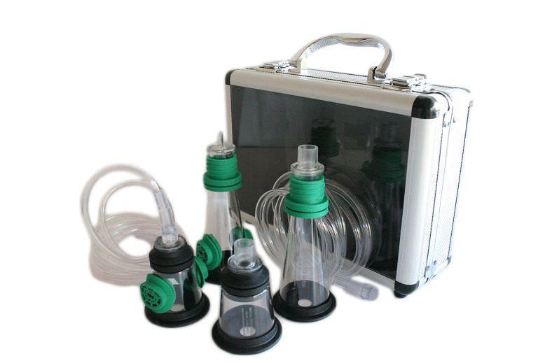 Resuscitation mask set / anesthesia / facial / veterinary 220800 McCulloch Medical