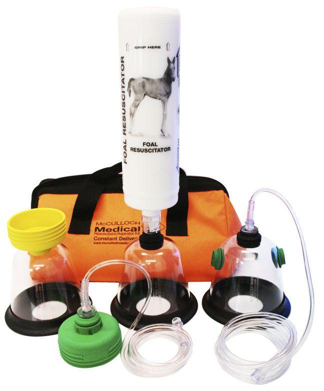 Veterinary cardiopulmonary resuscitation kit (for foals) 230300 McCulloch Medical