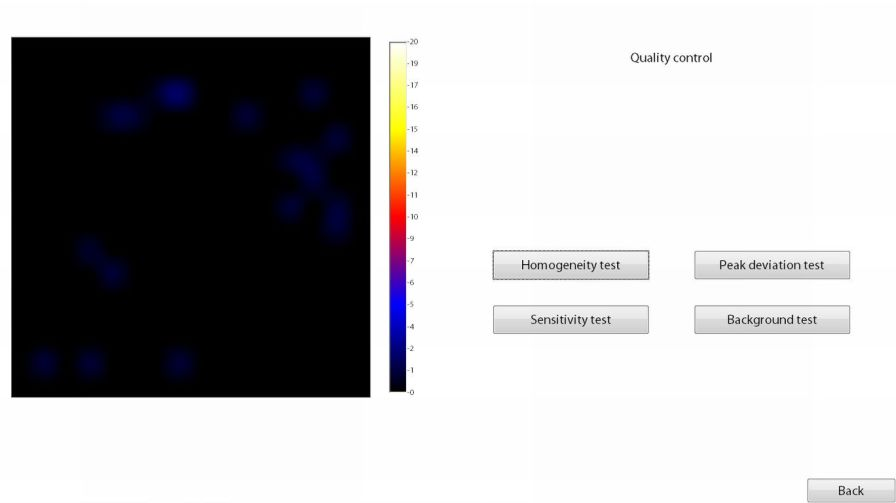 Acquisition software / scintigraphy / medical Crystal Photonics
