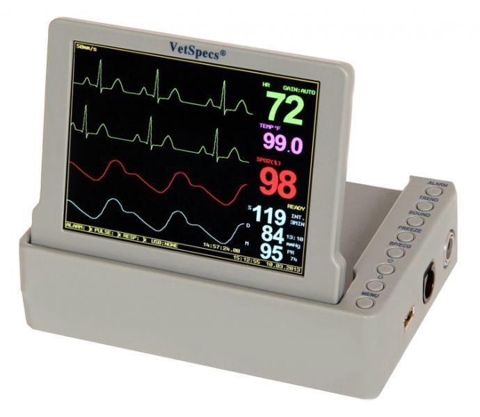 Portable vital signs monitor / veterinary / USB VetSpecs® PM10 VetSpecs