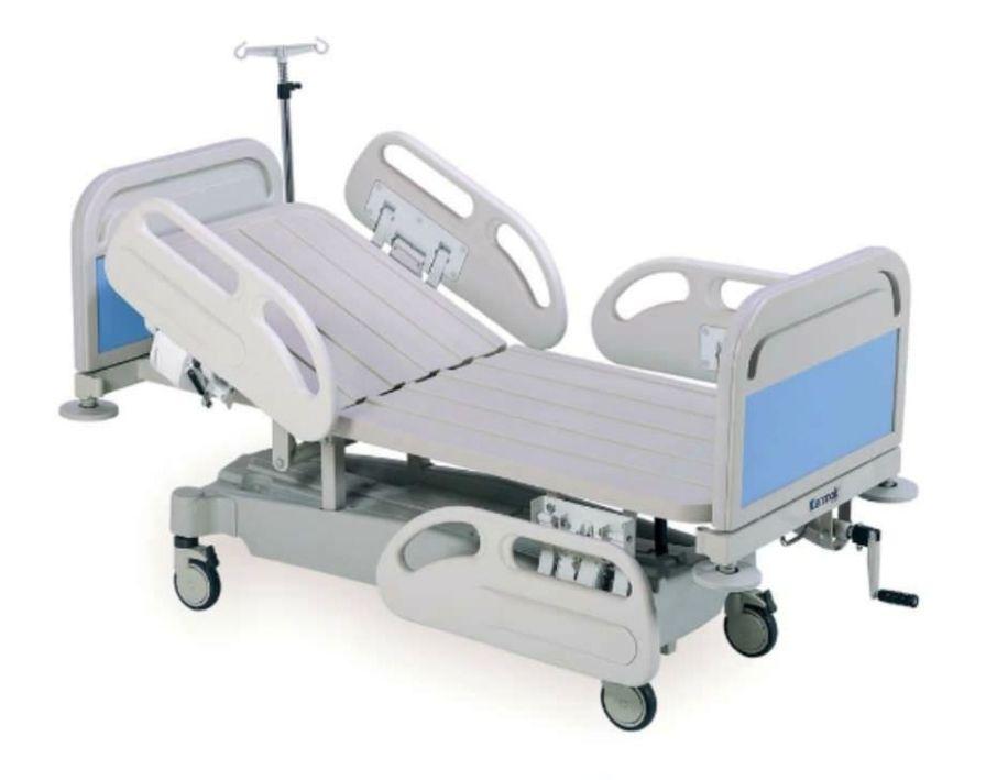 Hospital bed / on casters / Trendelenburg / pediatric K024-ST Kenmak Hospital Furnitures