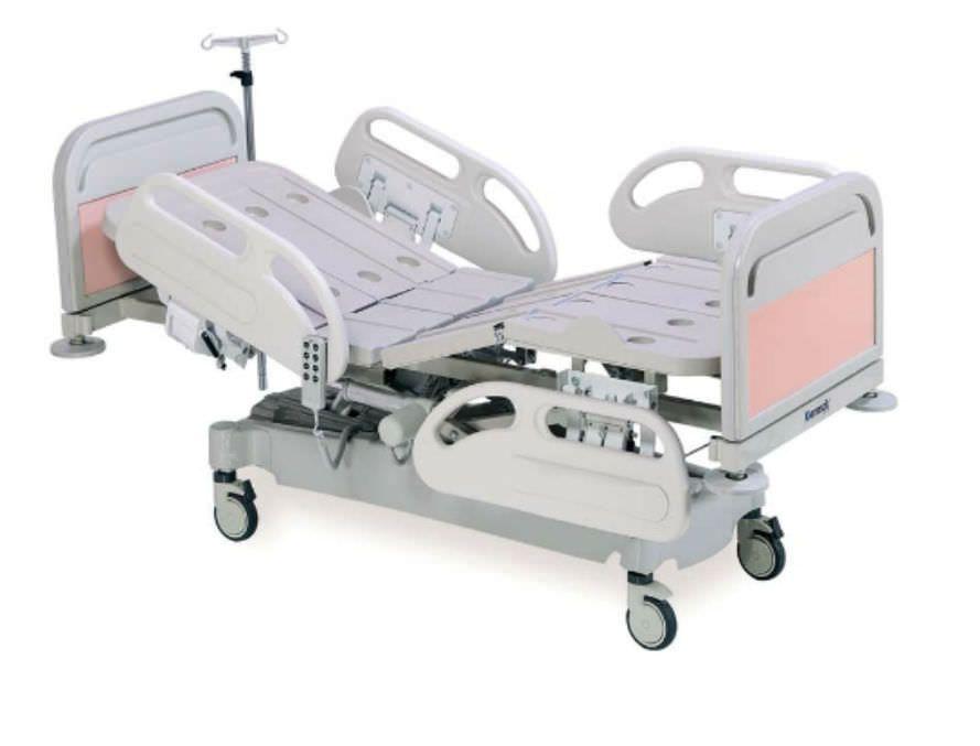 Hospital bed / electrical / on casters / height-adjustable K024E - 3M Kenmak Hospital Furnitures