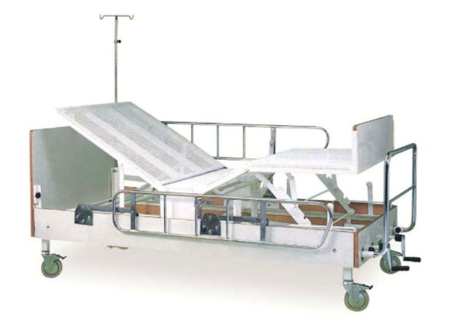 Hospital bed / on casters / 4 sections K011 - D Kenmak Hospital Furnitures