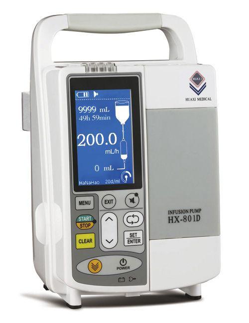 Volumetric infusion pump / multi-function / 1 channel 1 - 1200 mL/h | HX-801D Guangzhou Huaxi