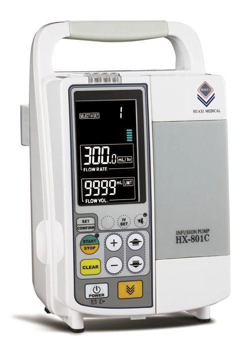 Volumetric infusion pump / 1 channel 1 - 999.9 mL/h | HX-801C Guangzhou Huaxi