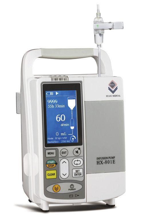 Volumetric infusion pump / multi-function / 1 channel 1 - 1200 mL/h | HX-801E Guangzhou Huaxi