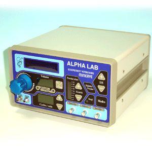 Electro-pneumatic ventilator / anesthesia / veterinary Alpha Lab MINERVE