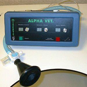 Emergency ventilator / transport / veterinary ALPHA VET MINERVE