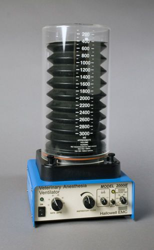 Electro-pneumatic ventilator / anesthesia / veterinary 000A0088 Hallowell EMC