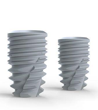 Cylindrical conical dental implant / titanium / conical / internal hexagon BoneTrust® plus Medical Instinct Deutschland GmbH