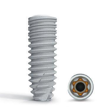 Cylindrical conical dental implant / titanium / conical / self-tapping BoneTrust® plus Medical Instinct Deutschland GmbH