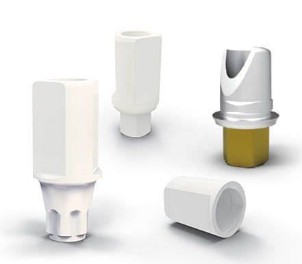 Titanium implant abutment Scan Medical Instinct Deutschland GmbH