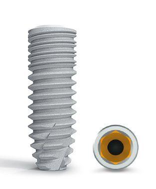Cylindrical conical dental implant / titanium / internal hexagon / self-tapping BoneTrust® plus Medical Instinct Deutschland GmbH