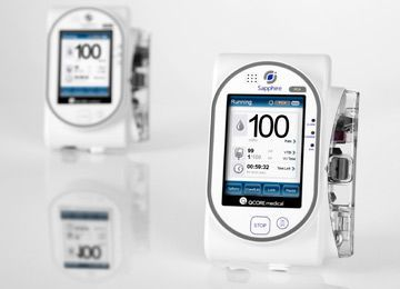 Continuous infusion pump / volumetric / 1 channel / PCA Sapphire PCA Q-Core