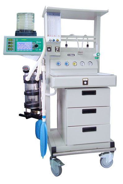 Anesthesia workstation with gas blender / 5-tube AS 2000 ADOX S.A.