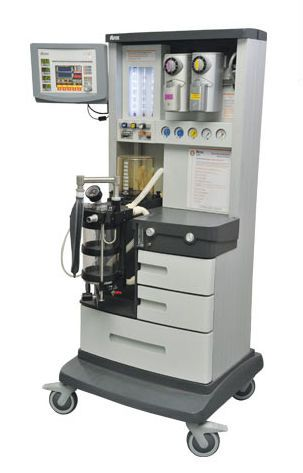 Anesthesia workstation with gas blender / 6-tube AS 3000 ADOX S.A.
