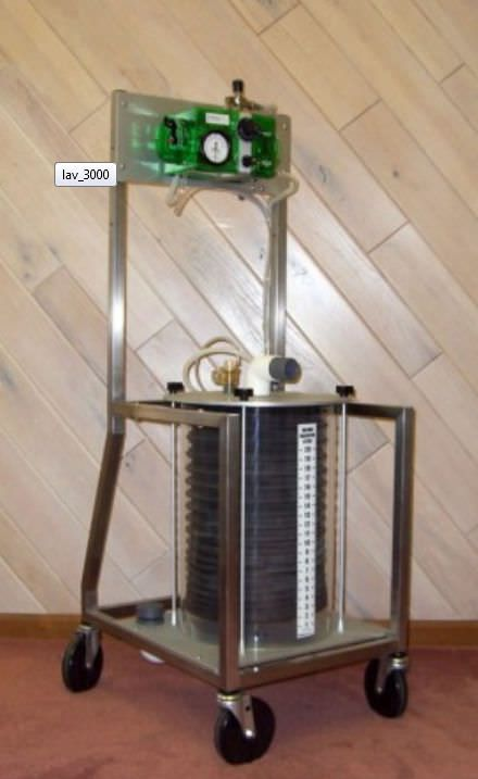 Pneumatic ventilator / anesthesia / veterinary LAV-3000 JD Medical Distributing