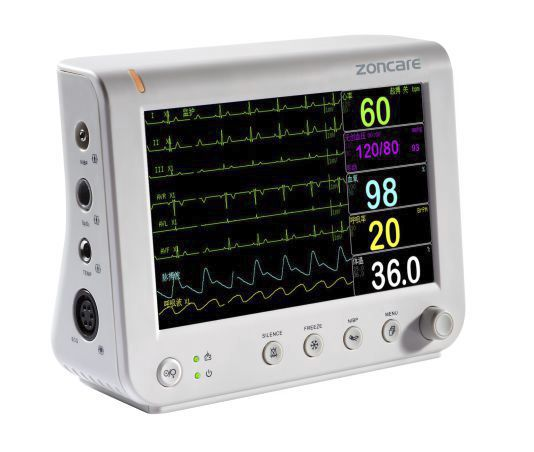 """Compact multi-parameter monitor / wireless 7"""" TFT   PM-7000A Zoncare Electronics"""