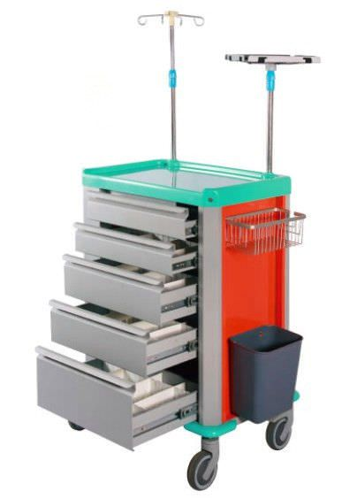 Treatment trolley / with drawer P-4 Xuhua Medical
