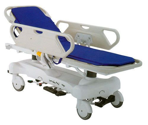Transport stretcher trolley / height-adjustable / hydraulic / 2-section Type? Xuhua Medical