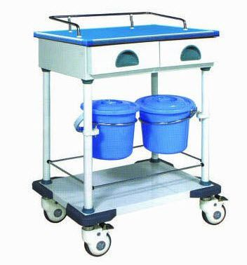 Treatment trolley / with drawer / 2-tray N-1 Xuhua Medical