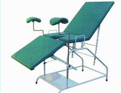 Gynecological examination table / fixed / 3-section H-2 Xuhua Medical