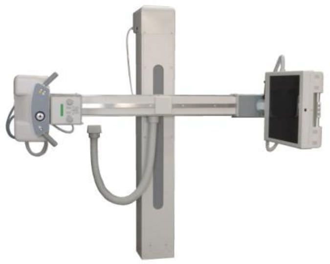Radiography system (X-ray radiology) / digital / for multipurpose radiography / without table POLYSTAT D General Medical Merate