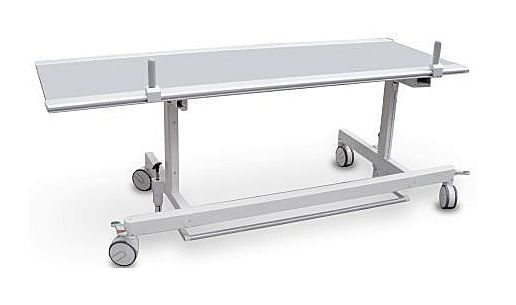 Transport stretcher trolley / X-ray transparent / 1-section MBA Series General Medical Merate
