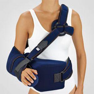 Arm sling with shoulder abduction pillow / human BORT OmoARS BORT Medical