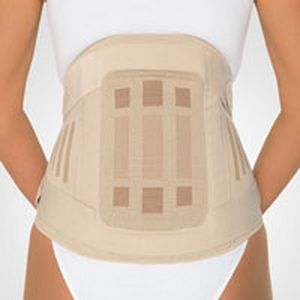 Lumbosacral (LSO) support belt / sacral / lumbar / with reinforcements StabiloPlus Bridging BORT Medical