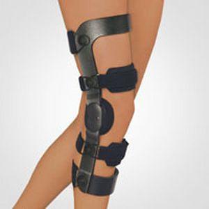 Knee orthosis (orthopedic immobilization) / knee ligaments stabilisation / articulated OTS BORT Medical