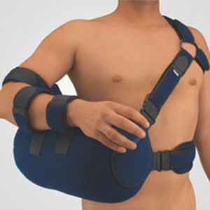 Arm sling with shoulder abduction pillow / human OmoTwinAir BORT Medical