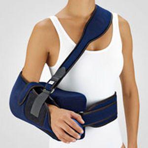 Arm sling with shoulder abduction pillow / human OmoARS short BORT Medical