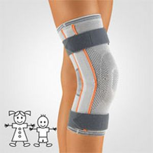 Knee orthosis (orthopedic immobilization) / with patellar buttress / with flexible stays / pediatric 150140 BORT Medical