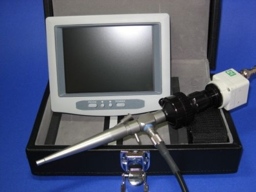 Otoscope veterinary video endoscope / with speculum / rigid USB-VOS MDS