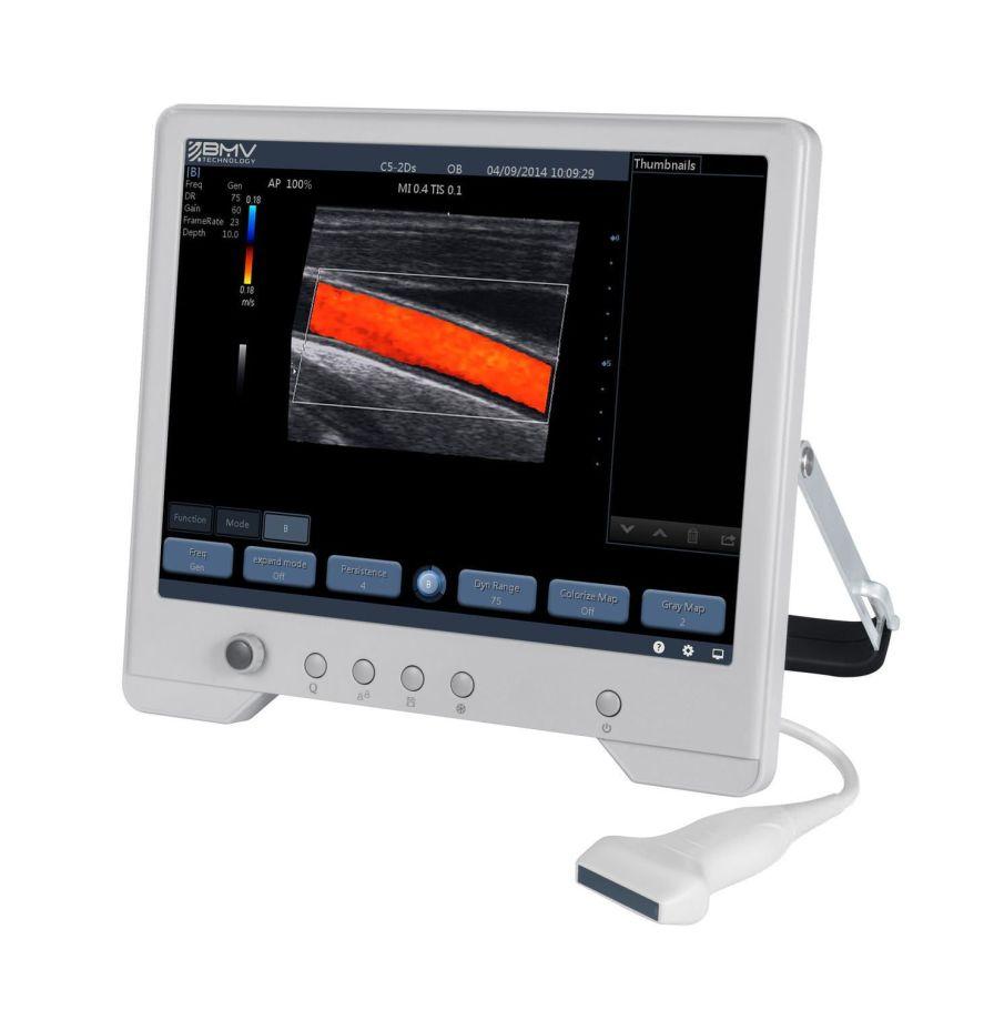 Portable veterinary ultrasound system TouchScan® TS30B Pro BMV Technology