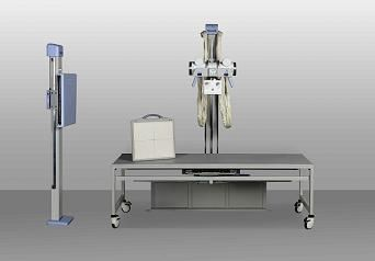 Radiography system (X-ray radiology) / digital / for multipurpose radiography / with vertical bucky stand NeuPioneer DR Neusoft Medical Systems